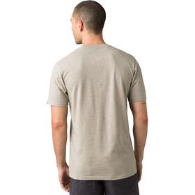 Prana Bear Squeeze Journeyman SS T-Shirt Men dark khaki heather